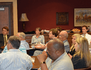 Corbin addresses MGRC Council