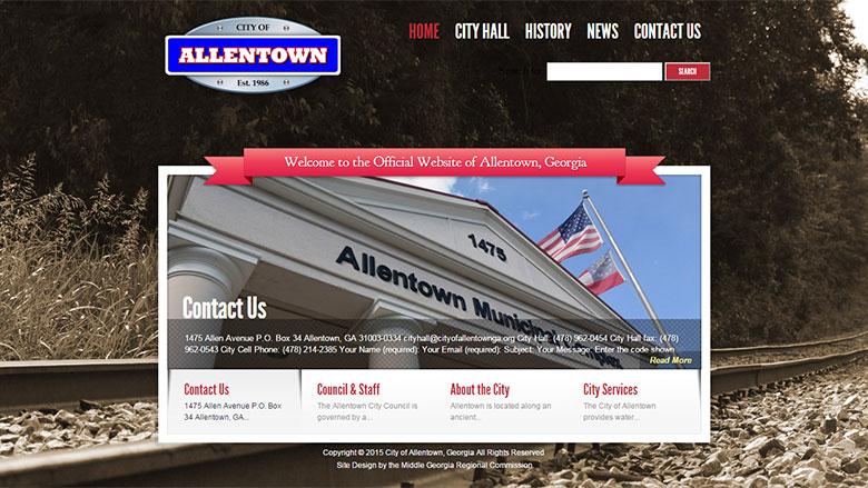City of Allentown Website