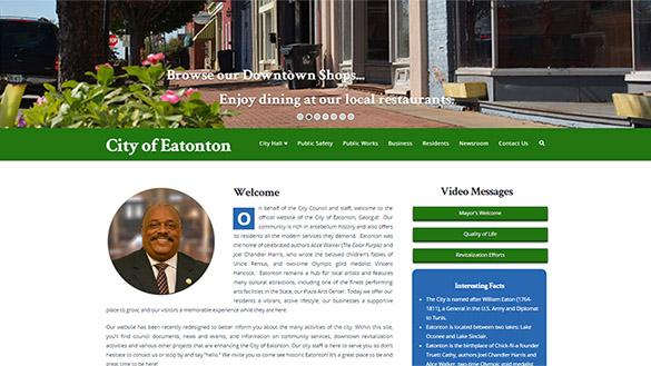 Eatonton Website Image