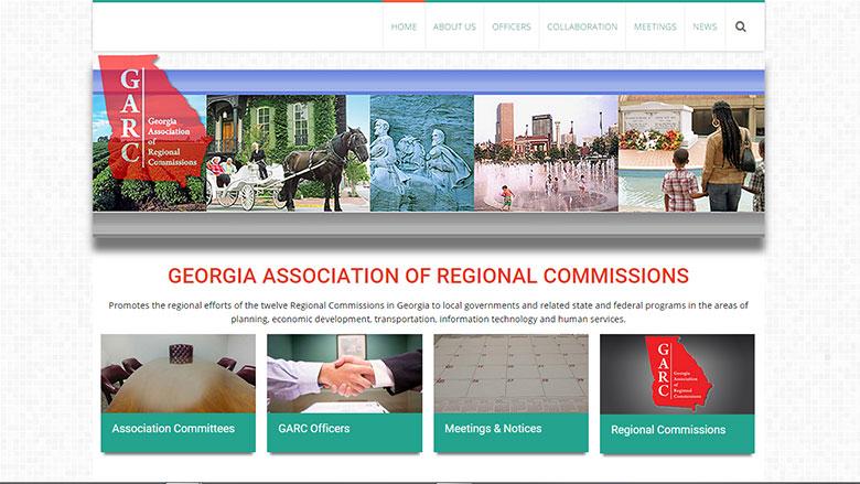 Georgia Association of Regional Commissions Website