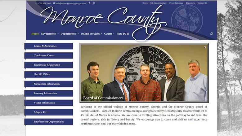 Monroe County Website