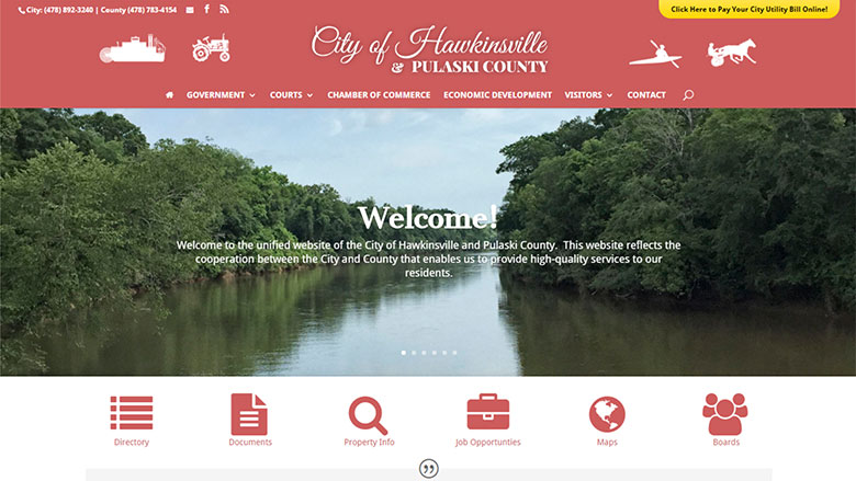 Hawkinsville-Pulaski County Website