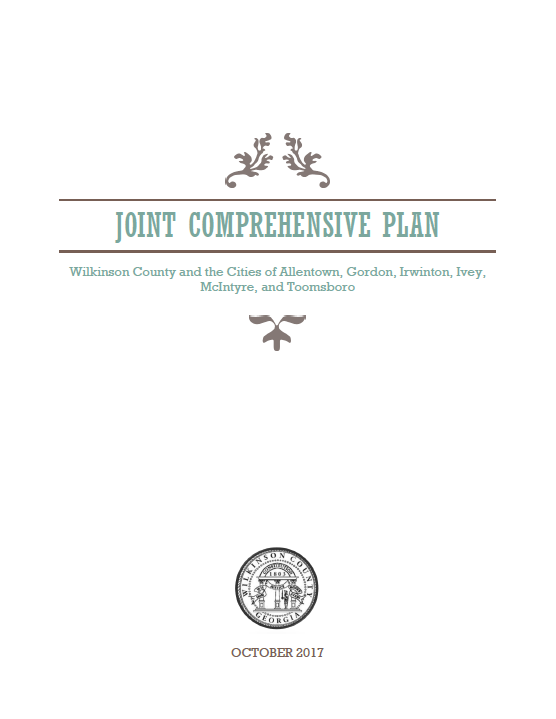 Wilkinson County Joint Comp Plan